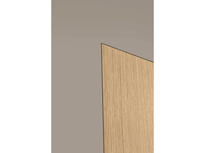 Porta interna in laminato materico finitura rovere naturale