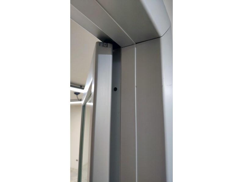 Porta liscia battente Rimadesio in alluminio a prezzo Outlet