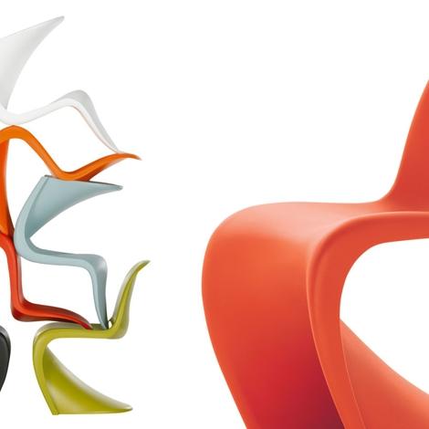 Vitra Sedia Panton chair Design  Sedie a prezzi scontati