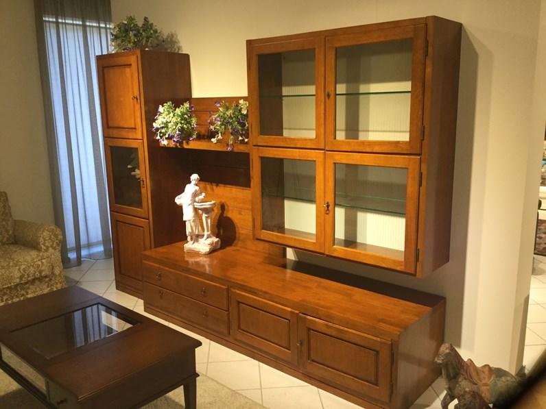 Per arredare un soggiorno classico con brio ed eleganza è importante puntare su. Mobile Componibile Altana Santarossa In Stile Classico A Prezzo Scontato