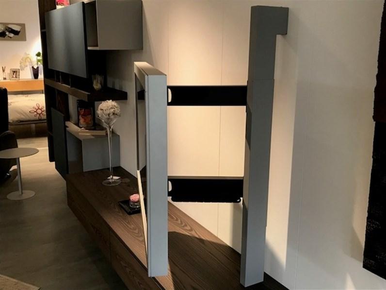 Mobile componibile in legno stile design Side system Fimar