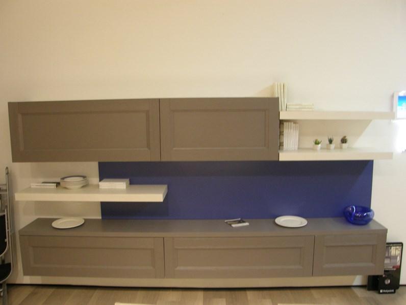Mobile componibile in stile moderno Lube cucine in legno