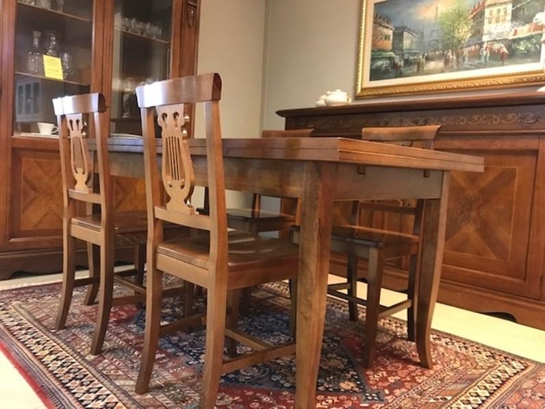 Sala da pranzo completa stile Bassano a prezzo ribassato