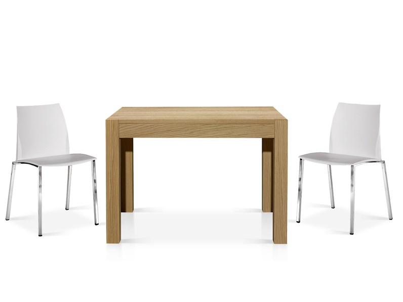 Tavolo Bassano allungabile in legno rovere
