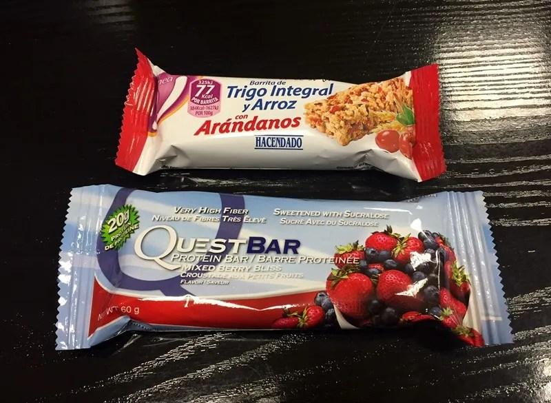 Comparativa entre un Snack Sano y Snack Basura