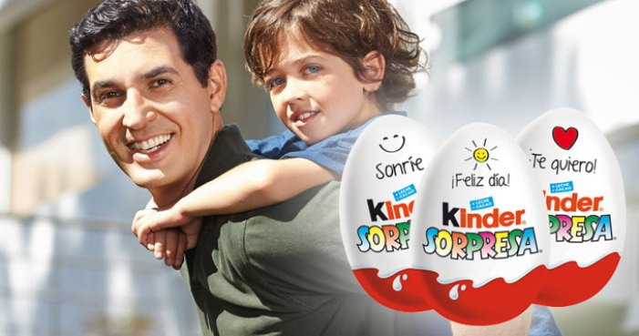 el huevo kinder sorpresa es poco saludable para los niños