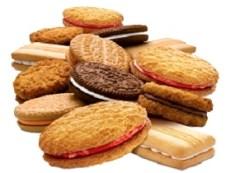 Productos con azúcar oculto galletas
