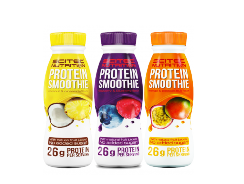 smoothie proteico scitec nutrition para picnic saludable y lowcarb