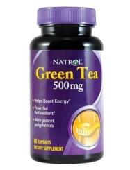 productos lowcarb. Cápsulas de té verde Natrol