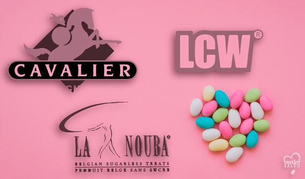 Chocolate y Gominolas saludables de LCW, Cavalier y La Nouba con los que poder darte un capricho