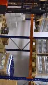 Zona de almacenaje de Pallets en OutletSalud.com