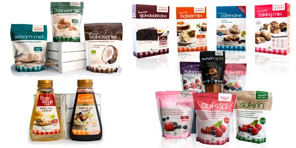SUKRIN la Alternativa perfecta al Azúcar y al Pan tradicional, sólo en Outletsalud