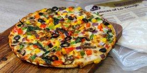 Receta pizza pan lowcarb Lo-Dough