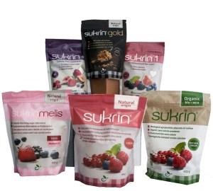 Edulcorantes naturales de Sukrin que se adaptan a cualquier tipo de dieta