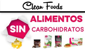 Alimentos sin Carbohidratos Clean Foods en Outletsalud