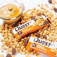 Barritas lowcarb Quest Bar en Outletsalud