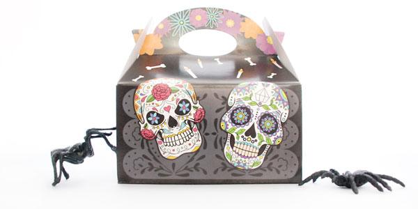 Caja Deluxe de Dulces lowcarb y sin azúcar para disfrutar Halloween de forma saludable
