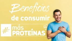 Beneficios científicamente probados de comer más Proteínas