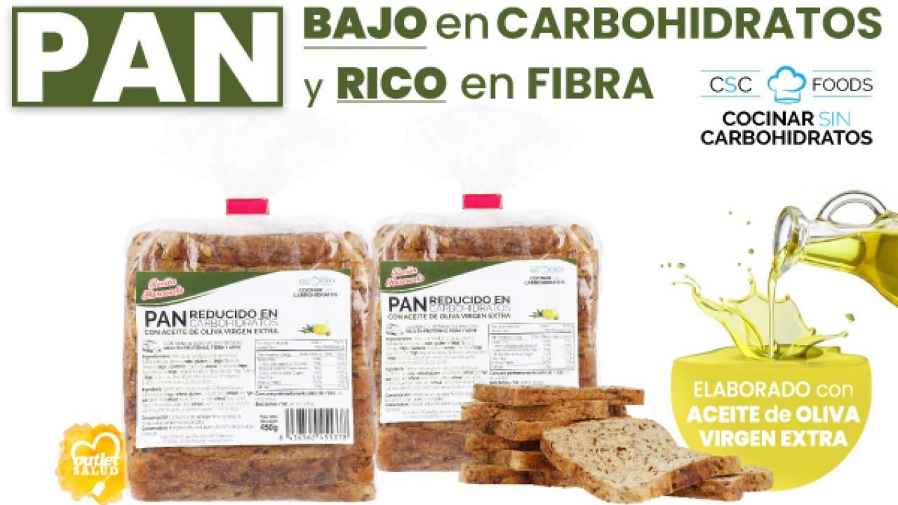 el pan de molde contiene fibra