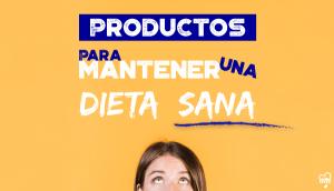 5 Familias de productos para mantener una Dieta Sana con OutletSalud