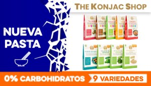 Pasta sin Carbohidratos The Konjac Shop en OutletSalud