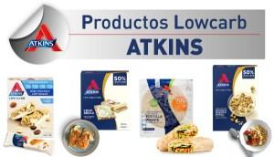 Productos Bajos en Carbohidratos Atkins en OutletSalud