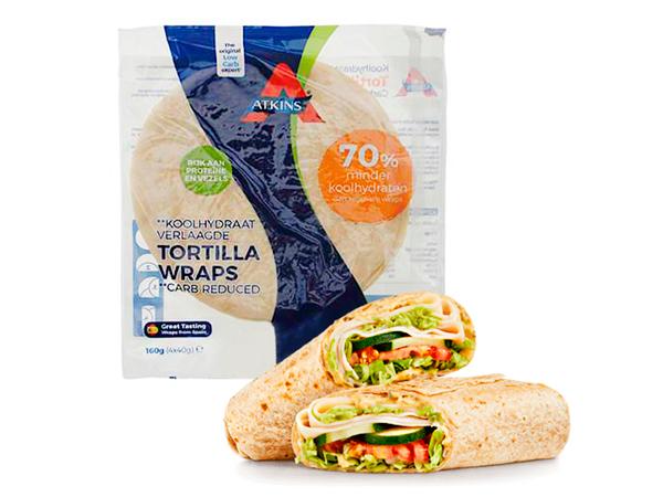 Tortillas wraps bajas en carbohidratos Atkins en OutletSalud