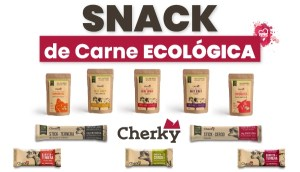 Snack de Carne Ecológica Cherky en OutletSalud