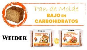 Pan Proteico Bajo en Carbohidratos Weider
