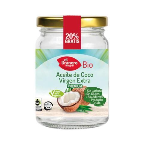 Aceite de Coco Virgen Ecológico El Granero Integral