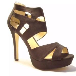 sandali fasce nero