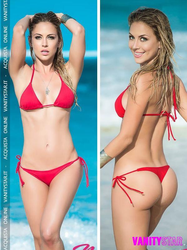 Bikini con perizoma Ophelie Red