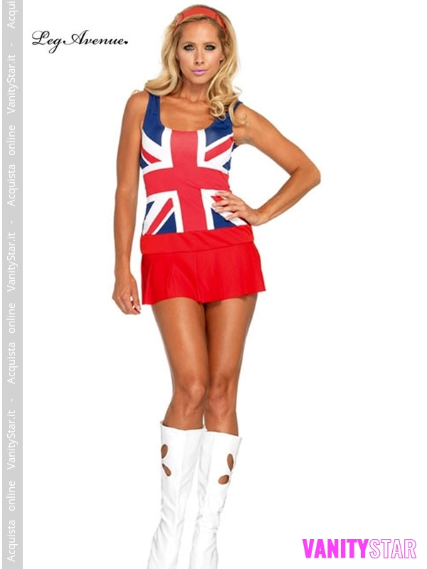 Costume ragazza inglese Brit