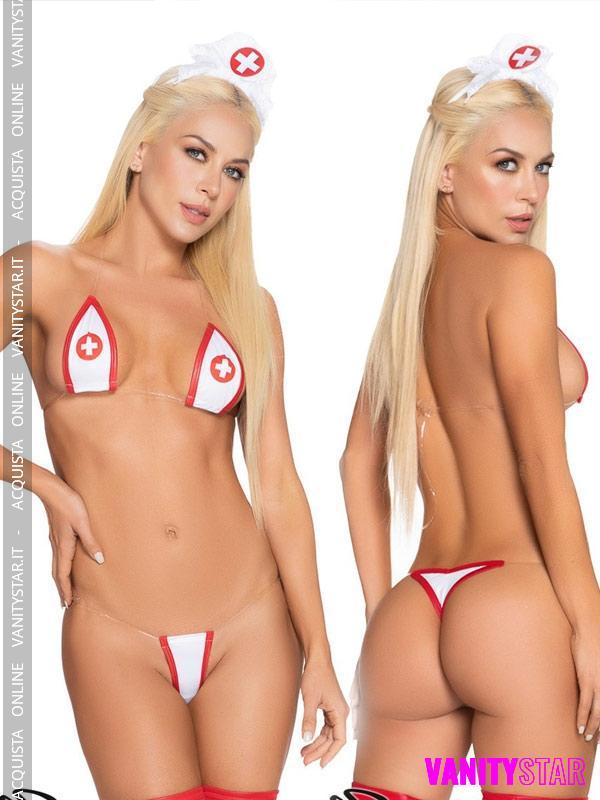 Micro bikini infermiera Tenai