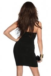 Elegante abito senza spalline RaffyWhite