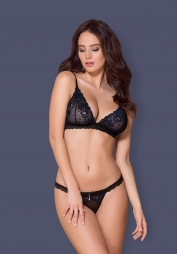 Completino in pizzo 866 Black
