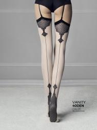 Calze per reggicalze con decori Vanity Linen