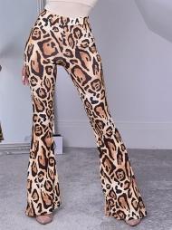 Pantalone a zampa Nova Brown Leo