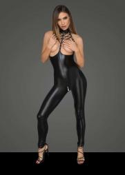 Catsuit lucida seno nudo Priska