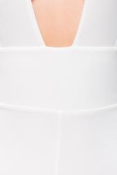 Elegante tuta scollata Hembry White