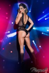 Body con trasparenze schiena nuda Maeve