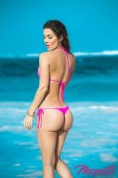 Bikini con perizoma Ophelie Hot Pink