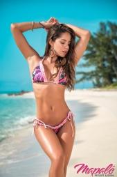 Bikini perizomato con rouge Shana