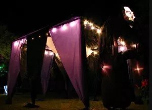 scary tent