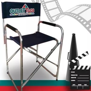 Personalized Director Chair