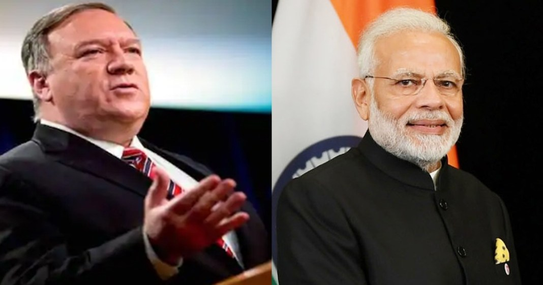 India did its best to reply to China's aggressive actions' Mike Pompeo