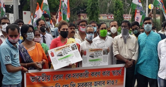 protest against privatization
