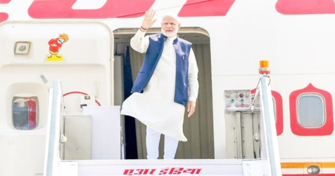 A new plane for Modi high-tech Air India One with missile defence system arrives next week