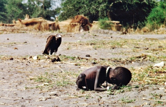 Starving Child and Vulture- Kevin Carter