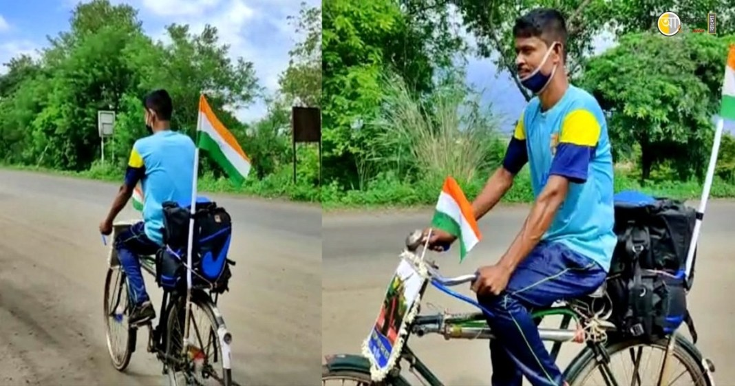 Tribute to Rajesh Orang, from Burdwan to Birbhum Crossing 100 km on a bicycle